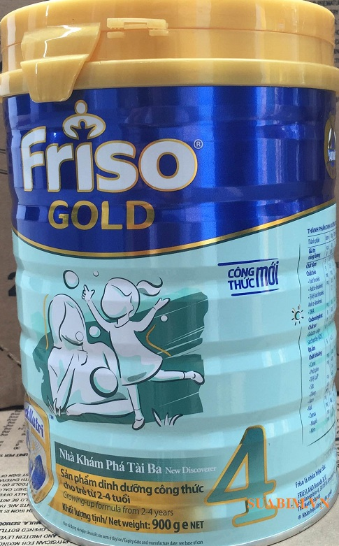 Sữa Bột Frisolac Gold 4 Cho Trẻ Từ 2-4 Tuổi 1500g