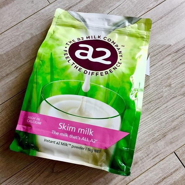 Sữa A2 Úc tách béo 1kg đinh dưỡng phát triển chiều cao và bổ sung canxi