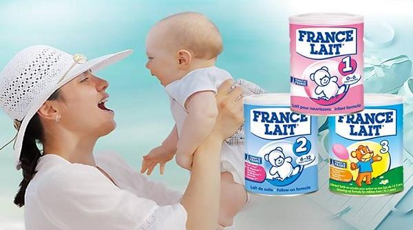 Sữa France Lait thương hiệu sữa hàng đầu thế giới