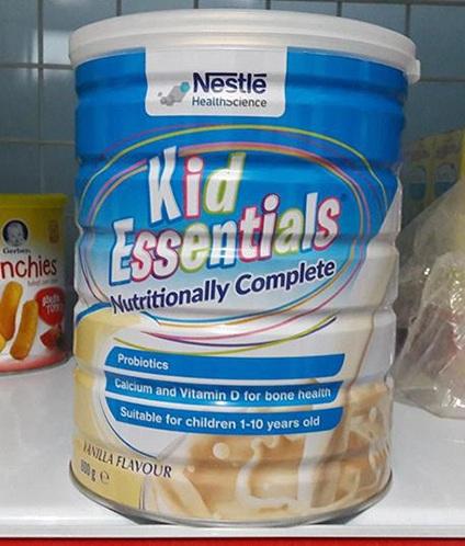 Sữa Kid Essentials 800g dinh dưỡng đặc trị cho trẻ biếng ăn