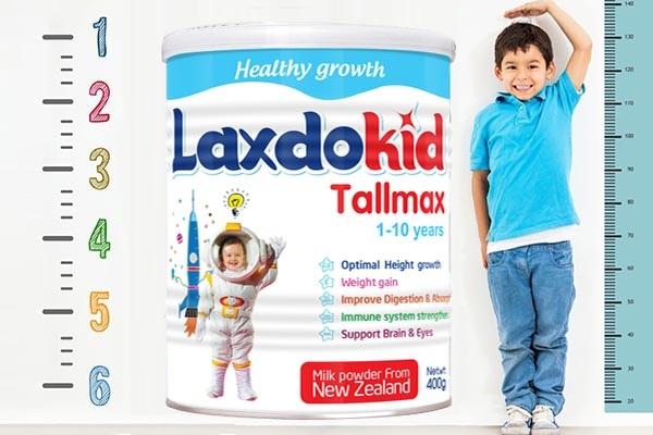Sữa Laxdokid Tallmax 900g cho bé 1-10 tuổi