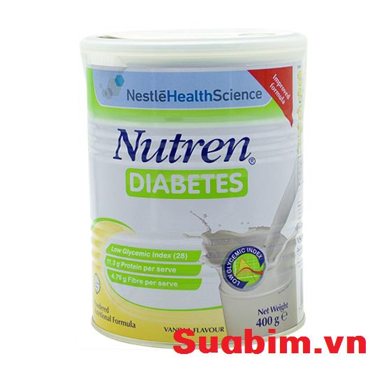 Sữa Nutren Diabetes dinh dưỡng cho người tiểu đường