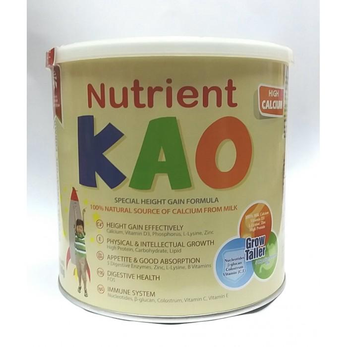 Sữa nutrient Kao tăng chiều cao tối đa cho trẻ suy dinh dưỡng