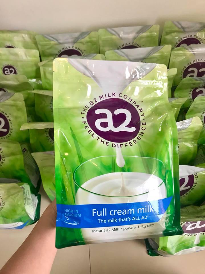 Sữa A2 Úc mẫu mới hàm lượng canxi cao