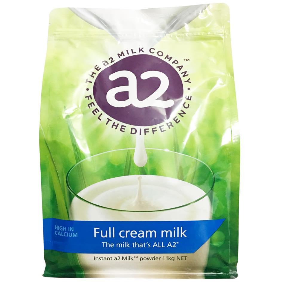 Sữa A2 Úc mẫu mới