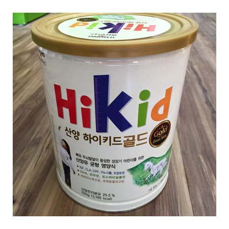 Sữa Hikid dê núi sản phẩm dinh dưỡng cao cấp, cho các bé bị dị ứng với đạm sữa bò, dễ tiêu hóa, dễ hấp thu