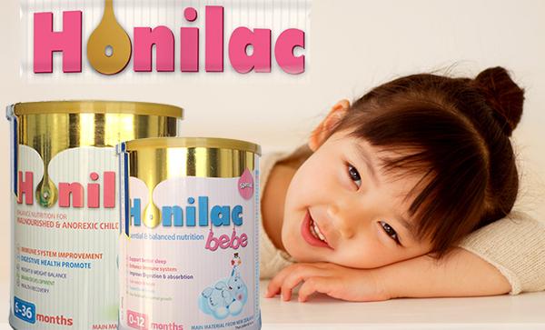 Sữa Honilac giúp bé tăng cân nhanh và khỏe mạnh chỉ sau 3 tuần sử dụng, viện dinh dưỡng khuyên dùng