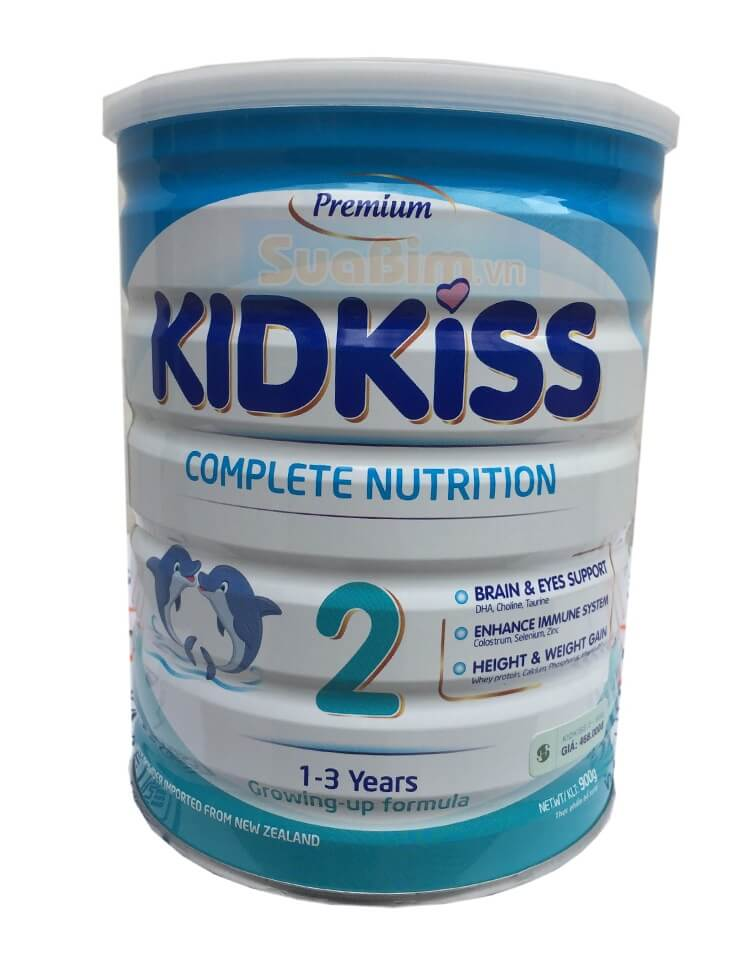 Sua Kidkiss 2 danh cho tre 1-3 tuoi
