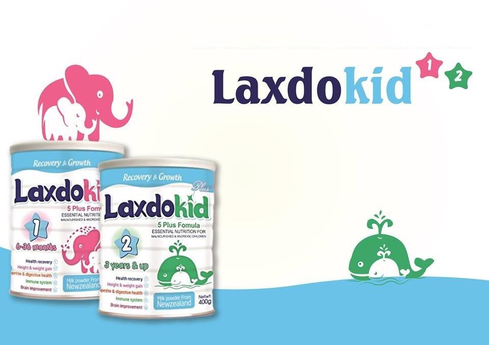 Sữa Laxdokid số 1 và Sữa Laxdokid số 2