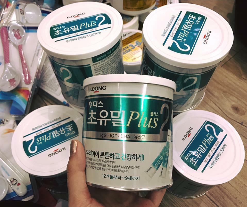 Sữa Non Ildong Hàn Quốc số 2 cho bé trên 1 tuổi