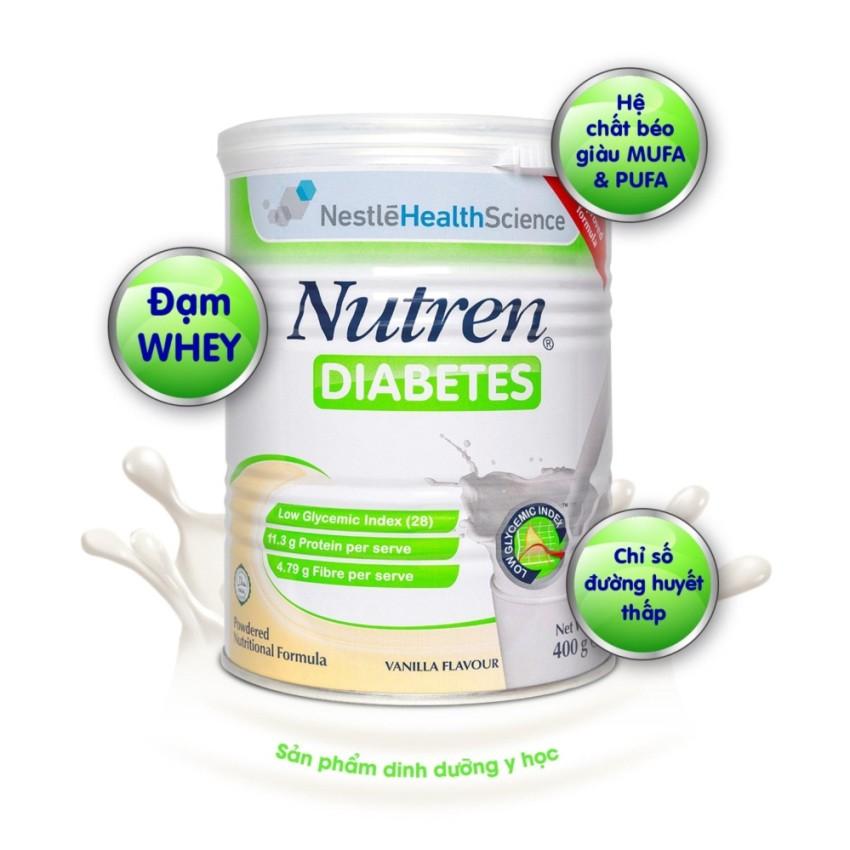 Sữa Nutren Diabetes dinh dưỡng hoàn hảo cho người tiểu đường