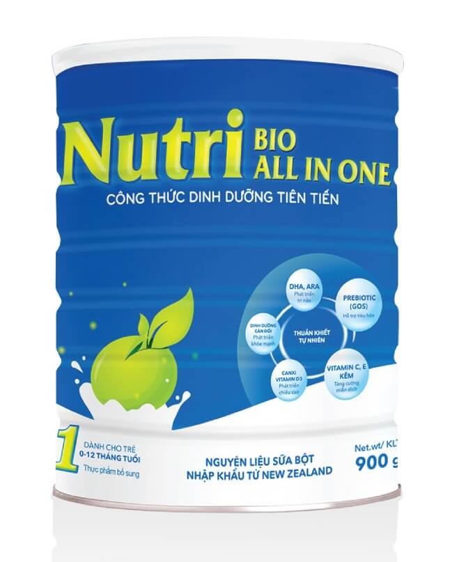 Sữa Nutribio All In One 1