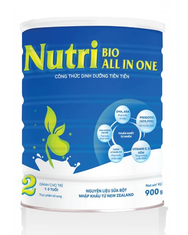 Sữa Nutribio All In One 2