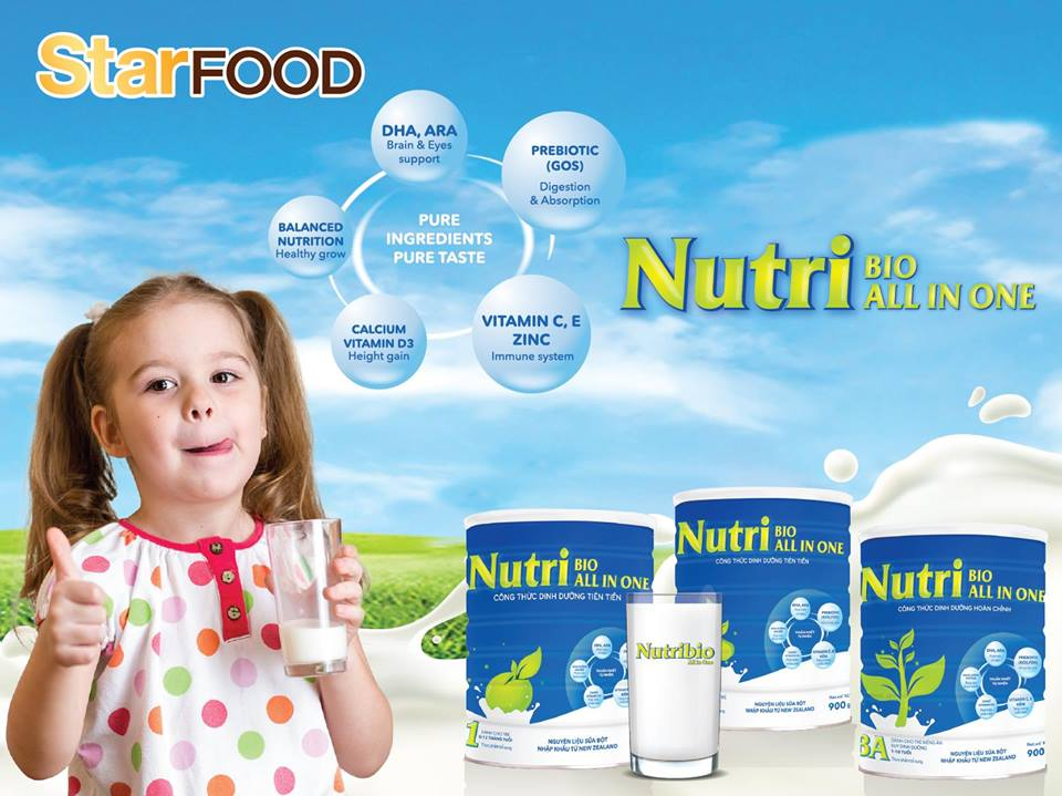 Sữa Nutribio All In One