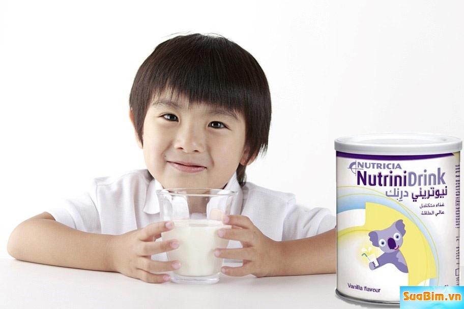 Sữa Nutrinidrink giúp trẻ hết biếng ăn và phát triển toàn diện