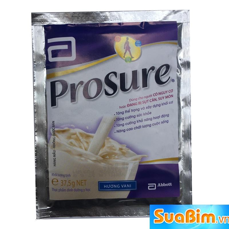 Sữa Prosure dạng gói