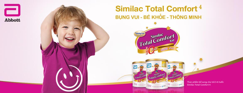 Sữa Similac Total comfort cho bé