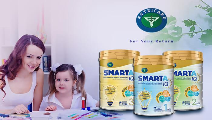 Sữa Smarta IQ của Hãng Nutricare
