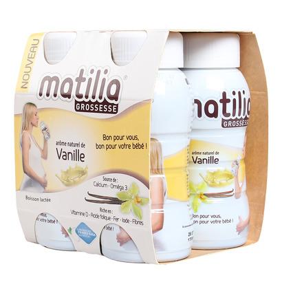 Sữa bầu Matilia vị vani