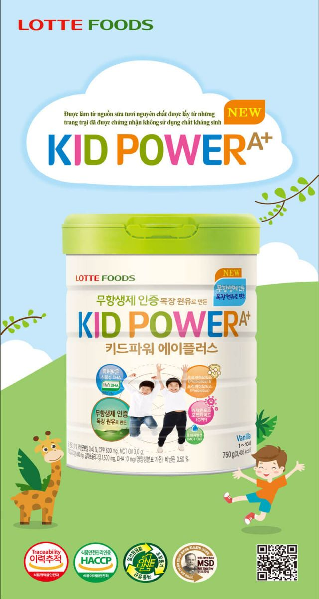 Sua Kid Power Han Quoc