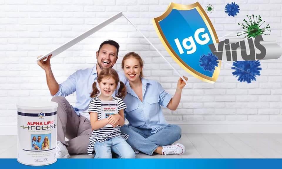 sữa non alpha lipid lifeline bảo vệ cả gia đình bạn