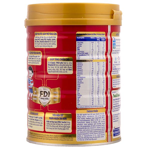 Sữa grow plus đỏ của nutifood đặc trị trẻ biếng ăn