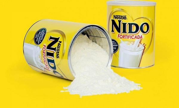 Sữa nido nắp trắng dòng sữa tươi dạng bột nguyên kem tăng cân tốt nhất cho trẻ, nhập khẩu từ mỹ, giá thành cực tốt