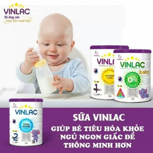 Sữa Vinlac giúp bé phát triển toàn diện nhất