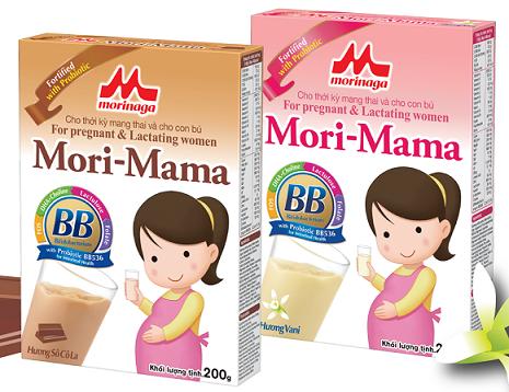 Sữa bầu Mori mama