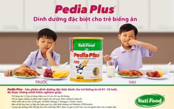 Sữa Nuti Pedia Plus, dinh dưỡng đặc biệt cho trẻ biếng ăn