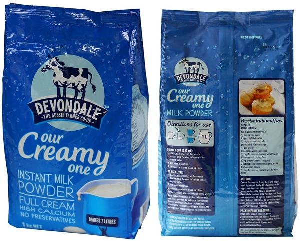 SỮA DEVONDALE - Sữa nguyên kem bổ sung dinh dưỡng cho gia đình