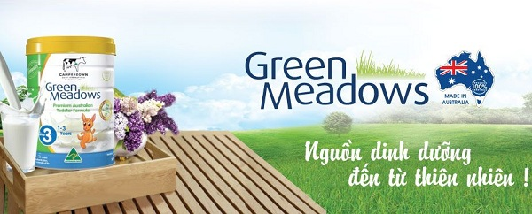 sữa green meadows 1