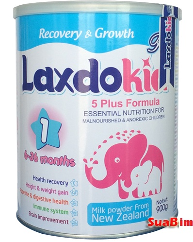sữa laxdokid số 1 900g