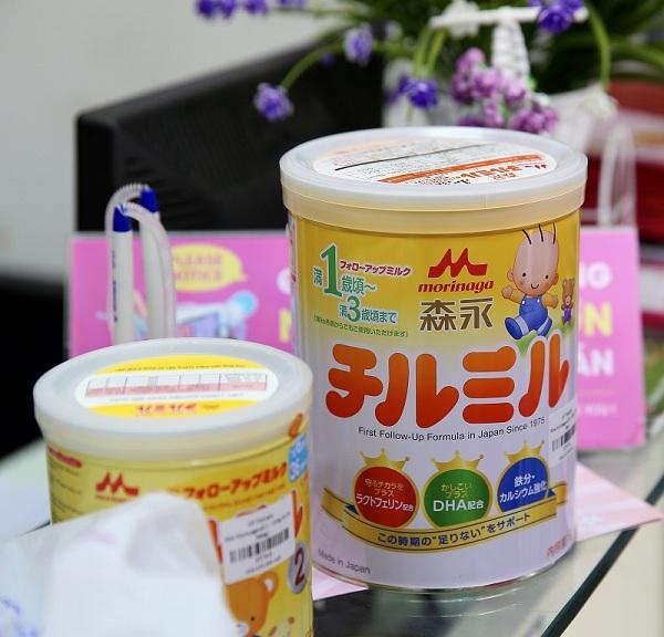Sữa Morinaga số 9 hàng nội địa