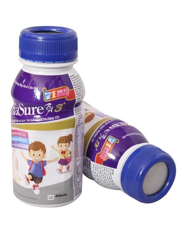 Sữa Pediasure nước BA 3+ dành cho bé trên 3 tuổi