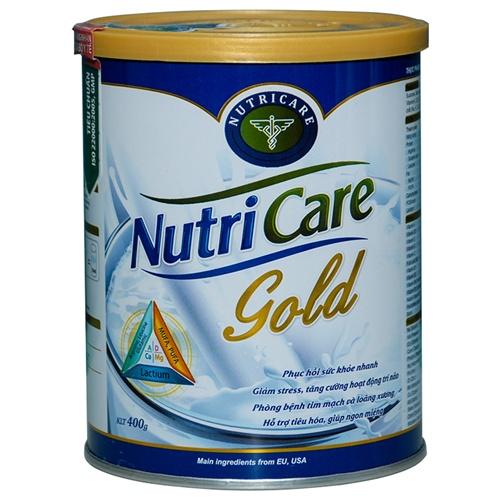 Sữa Nutricare gold 900g