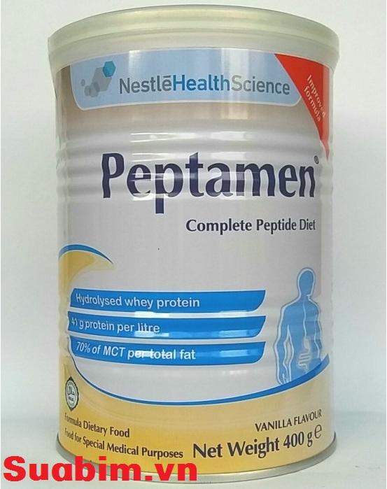 Sữa Peptamen dinh dưỡng dành cho người ung thư của Nestle