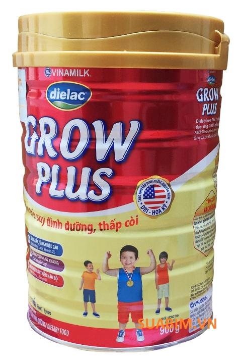 sữa dielac grow plus 1+ dành cho bé suy dinh dưỡng thấp còi