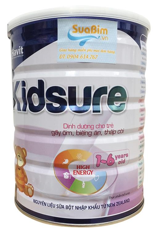 Sữa Kidsure giải pháp đặc biệt cho trẻ biếng ăn