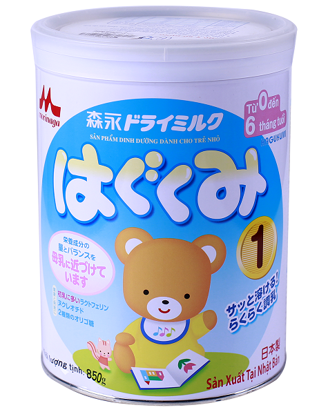 Sữa morinaga số 1 hàng nhập khẩu từ nhật của công ty lê mây