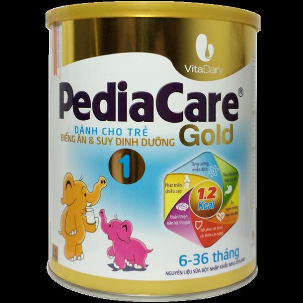 PediaCare Gold chứa rất nhiều vitamin và các khoáng chất