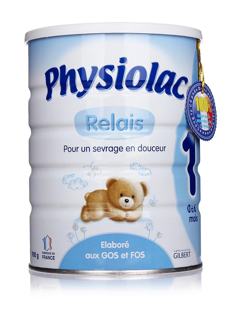 Sữa Physiolac số 1 nhập khẩu nguyên lon từ Pháp