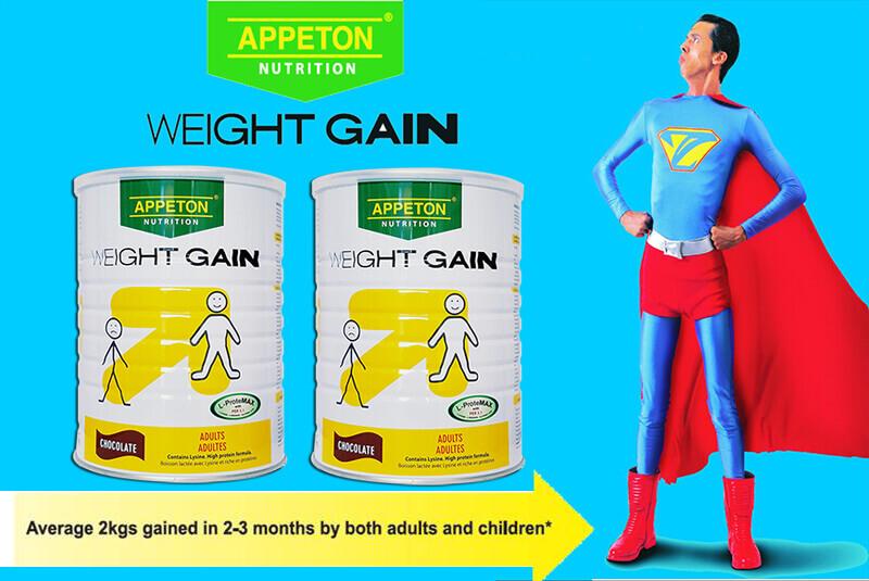 Tăng cân đều đặn và hiệu quả