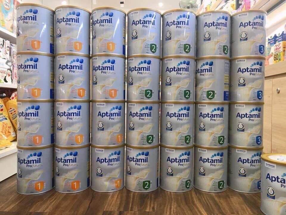 sữa aptamil Úc cho bé phát triển toàn diện nhất