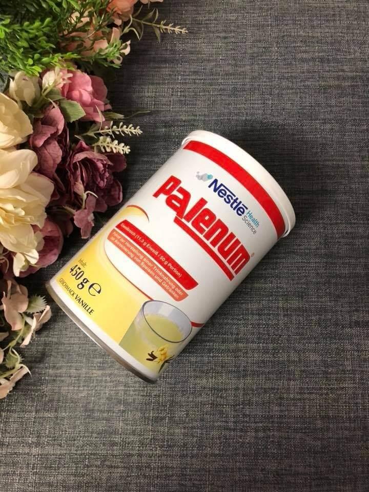 sữa ung thư palenum của đức sử dụng hiệu quả