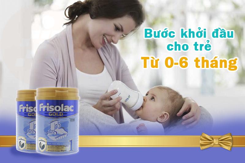 Sữa Frisolac Gold 1 ổn định đường tiêu hóa tốt nhất