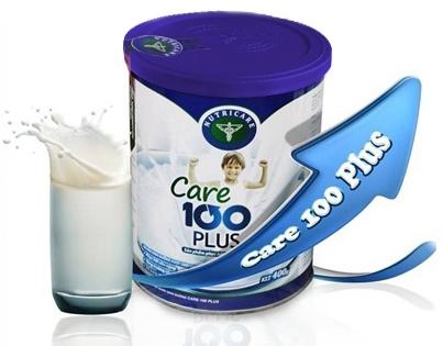 Sữa care 100 plus tăng chiều cao cho bé - Giảm giá 279k rẻ nhất hiện nay1