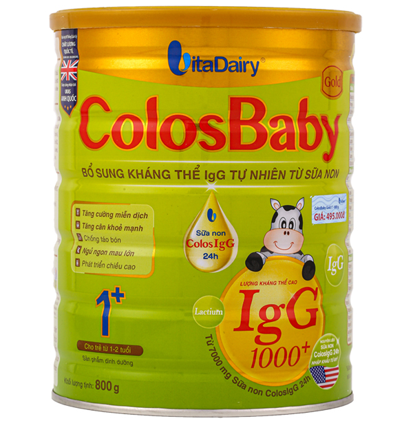 Sữa Colosbaby gold 1+ 800g