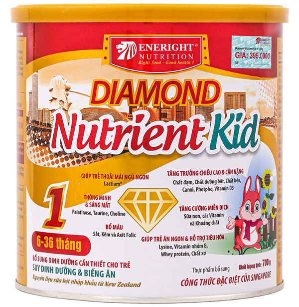 Sữa diamond nutrient kid 1 700g