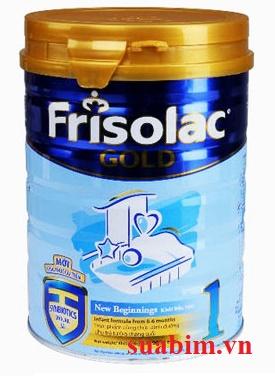 Sữa Frisolac Gold 1 dành cho trẻ sơ sinh 0-6 tháng
